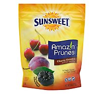 Sunsweet Cherry Essence Pitted Dried Plums - 6 Oz