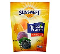 Sunsweet Amazin Prunes Pitted Orange Essence - 6 Oz