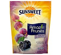 Sunsweet Bite Size Pitted Prunes - 8 Oz