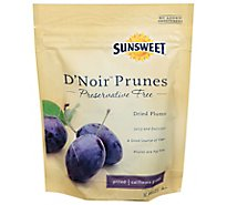 Sunsweet D Noir Prunes Pitted California Grow - 8 Oz