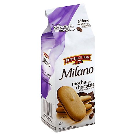Pepperidge Farm Milano Cookies Mocha Flavored Chocolate - 7 Oz
