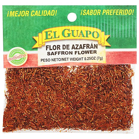 El Guapo Safflower Prepacked - .25 Oz