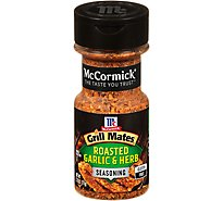 McCormick Grill Mates Seasoning Roasted Garlic & Herb - 2.75 Oz