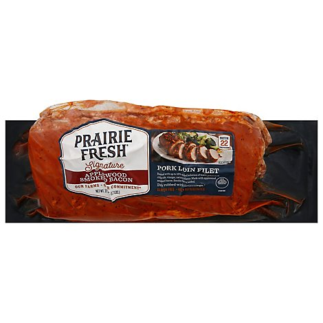 Smithfield Pork Loin Fillet Applewood Smoked Bacon - 27.2 Oz