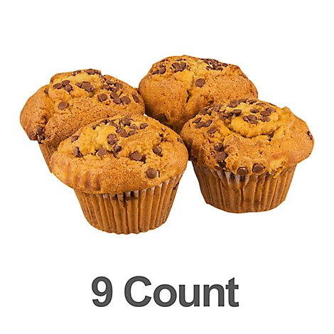 Bakery Muffins Cinnamon Chip 9 Count - Each