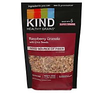 KIND Healthy Grains Clusters Raspberry with Chia Seeds - 11 Oz