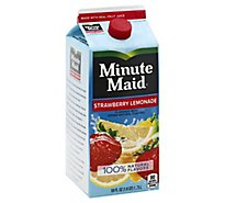 Minute Maid Juice Strawberry Lemonade Carton - 59 Fl. Oz.