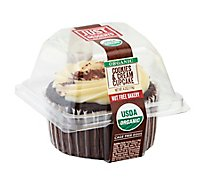 Just Desserts Cupcake Organic Cookies & Cream - Each