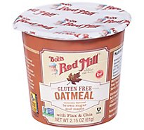 Bobs Red Mill Gluten Free Oatmeal Natural Flavored Brown Sugar and Maple - 2.15 Oz