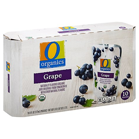 O Organics Organic Juice Beverage Grape - 10-6 Fl. Oz.