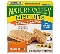 Nature Valley Biscuits Honey with Peanut Butter Filling - 5-1.35 Oz