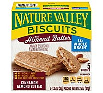 Nature Valley Biscuits Cinnamon with Almond Butter Filling - 5-1.35 Oz