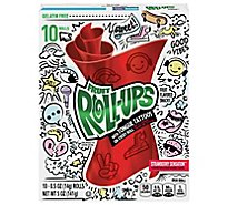 Betty Crocker Fruit Roll Ups Fruit Flavored Snacks Strawberry Sensation - 10-0.5 Oz