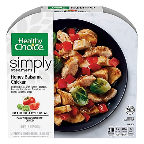 Healthy Choice Cafe Steamers Chicken Honey Balsamic - 9.9. Oz