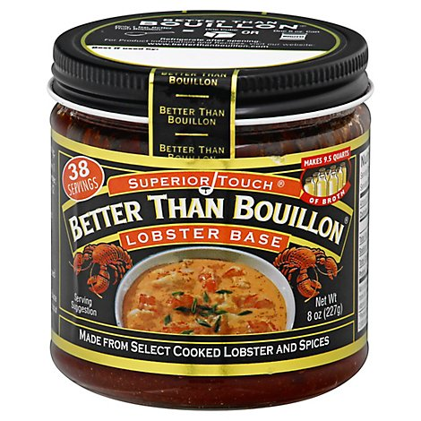 Better than Bouillon Base Superior Touch Lobster - 8 Oz