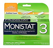 Monistat 3 Cream Combo Pack - Each