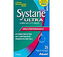 Systane Eye Drops Ultra Lubricant Unit Dose 25 Count - .7 Ml