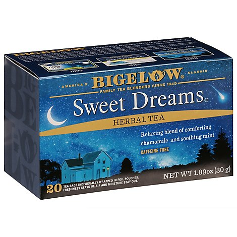 Bigelow Herbal Tea Caffeine Free Sweet Dreams - 20 Count