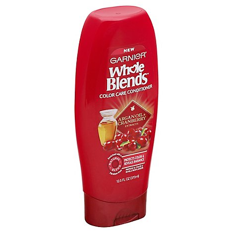 Garnier Whole Blends Conditioner Color Care Argan Oil & Cranberry - 12.5 Fl. Oz.