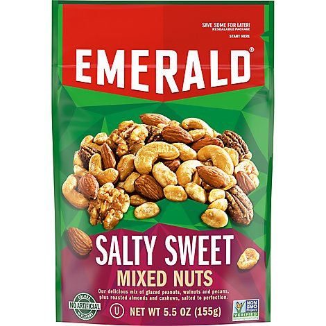 Emerald Mixed Nuts Salty Sweet - 5.5 Oz