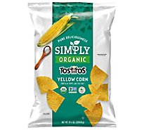 TOSTITOS Tortilla Chips Simply Organic Yellow Corn - 8.25 Oz