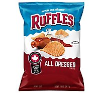 Ruffles Potato Chips All Dressed - 8.5 Oz