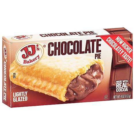 JJs Snack Pie Chocolate - 4 Oz