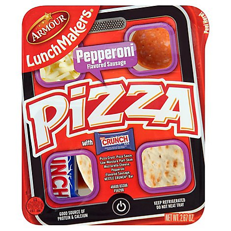 Armour Lunch Maker Pizza Pepperoni - 2.9 Oz