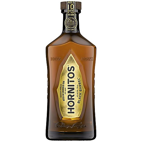 Hornitos Tequila Black Barrel 80 Proof - 750 Ml