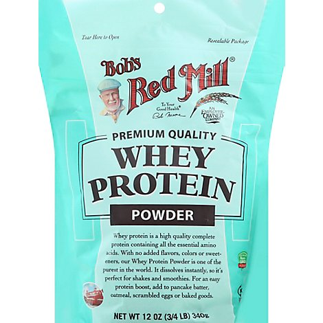 Bobs Red Mill Whey Protein Powder - 12 Oz
