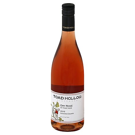 Toad Hollow Rose Wine - 750 Ml
