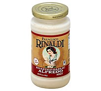 Francesco Rinaldi Pasta Sauce Alfredo Roasted Garlic - 15 Oz