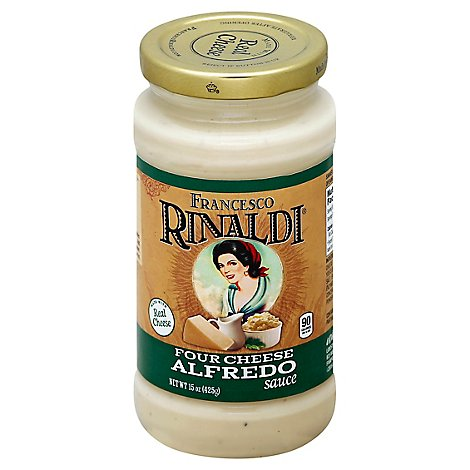 Francesco Rinaldi Pasta Sauce Alfredo Four Cheese - 15 Oz