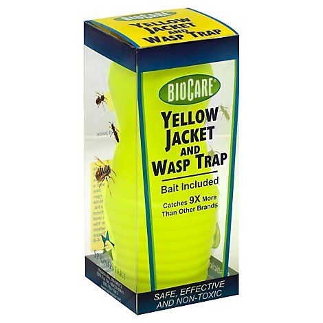 Biocare Yellow Jacket And Wasp Trap - Each
