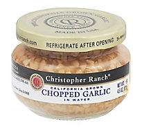Christopher Ranch Chopped Garlic - 4.5 Oz