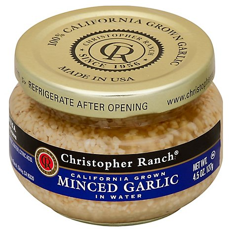 Christopher Ranch Minced Garlic - 4.5 Oz