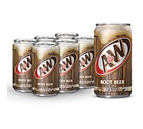 A&W Soda Root Beer - 6-7.5 Fl. Oz.