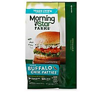 MorningStar Farms Veggie Chik Patties Buffalo - 10 Oz