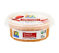 O Organics Roasted Red Pepper Hummus - 10 Oz.