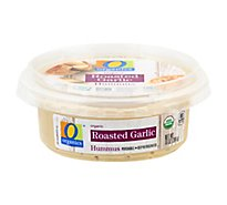 O Organics Organic Hummus Roasted Garlic - 10 Oz