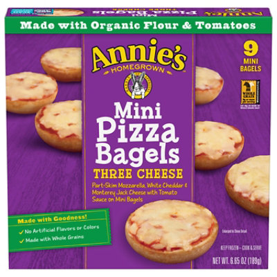 Annies Homegrown Pizza Bagels Online Groceries Safeway