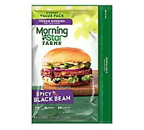 MorningStar Farms Veggie Burgers Spicy Black Bean Value Pack - 18.9 Oz