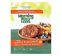 MorningStar Farms Veggie Breakfast Sausage Patties Maple Flavored - 8 Oz