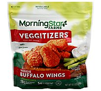MorningStar Farms Veggie Wings Buffalo - 10.5 Oz