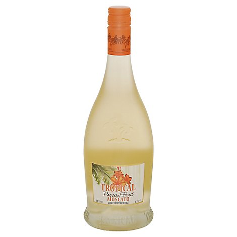 Tropical Moscato Wine Passion Fruit - 750 Ml