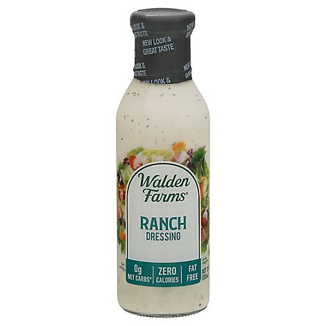 Walden Farms Dressing Calorie Free Ranch - 12 Fl. Oz.