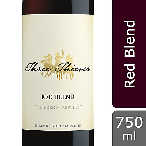 Three Thieves Wine Red - 750 Ml
