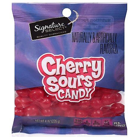 Signature Select Candy Cherry Sours 8 Oz Safeway