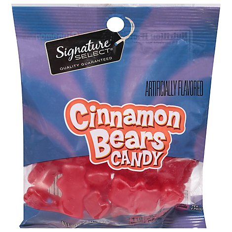 Signature SELECT Candy Cinnamon Bears - 7 Oz