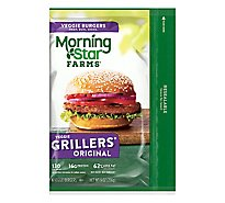 MorningStar Farms Veggie Burgers Grillers Original - 9 Oz
